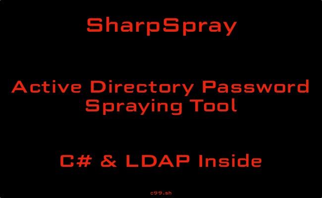 SharpSpray   Active Directory Password Spraying Tool